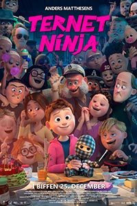 """Poster for the movie """"Checkered Ninja"""""""